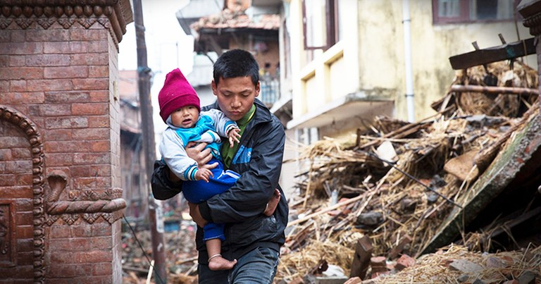 Samaritan's Purse Joins In Nepal Earthquake Relief