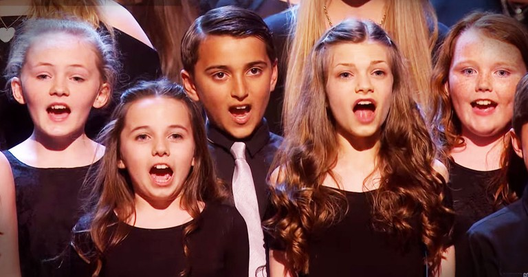 This AMAZING Choir Just Sent Chills Straight Up My Spine!