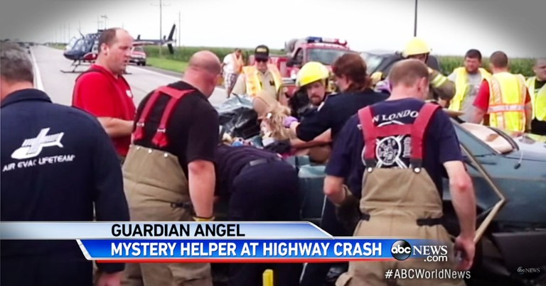 God Sent a Mysterious Angel to Pray with Victim of Terrible Car Crash