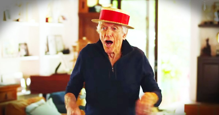 Dick Van Dyke Still Has SERIOUS Dance Moves!