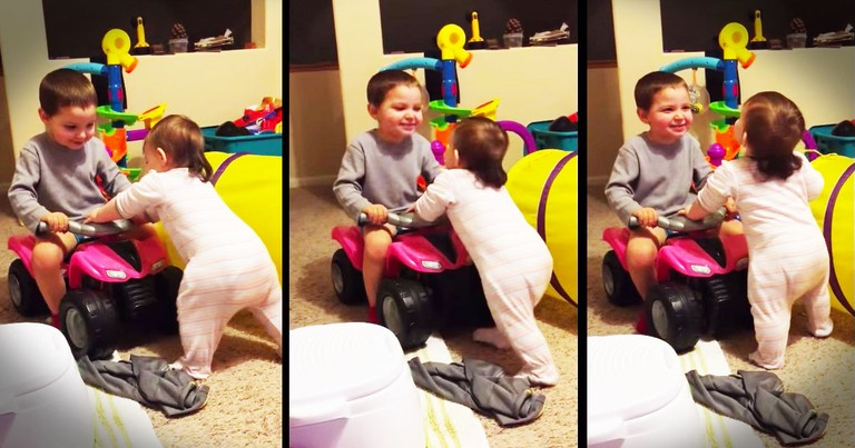 World's Cutest Big Brother Just Melted My Heart!