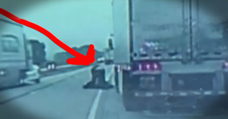 They Thought This Trucker Broke Down--The Truth Had 3 Guardian Angels Fighting For His Life!