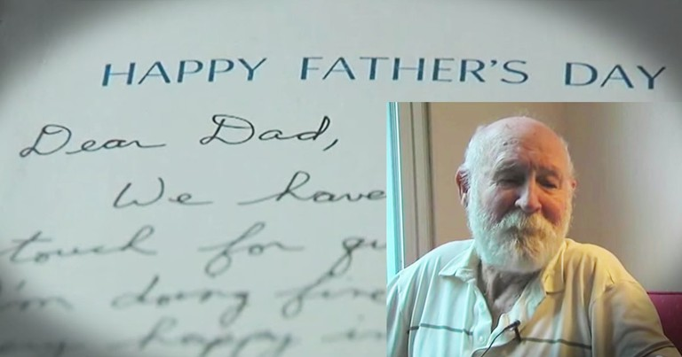 His Son Died 20 Years Ago, And He Just Got A Letter From Heaven!