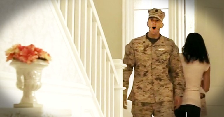 This Sailor Has Never Met His Baby Girl. And That's About To Change - TEARS!