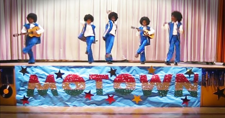 School Talent Show Didn't See THIS Motown Lip Sync Coming!