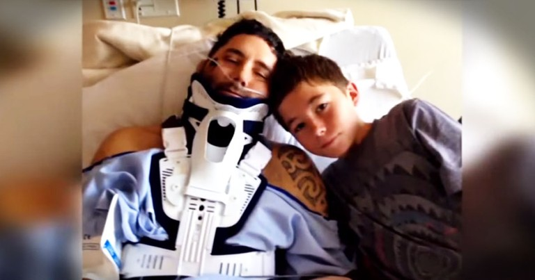 Teen Son Saves Dad's Life After Tragic Accident