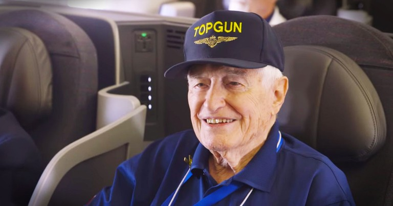 Celebrity Honors WWII Veterans With Beautiful Tribute