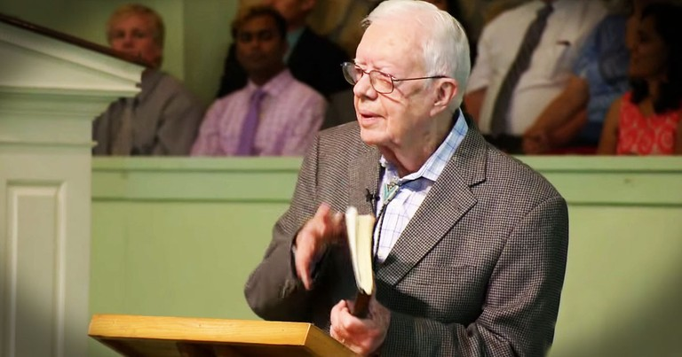 President Carter May Be Fighting For His Life, But He's Still Preaching The Gospel!