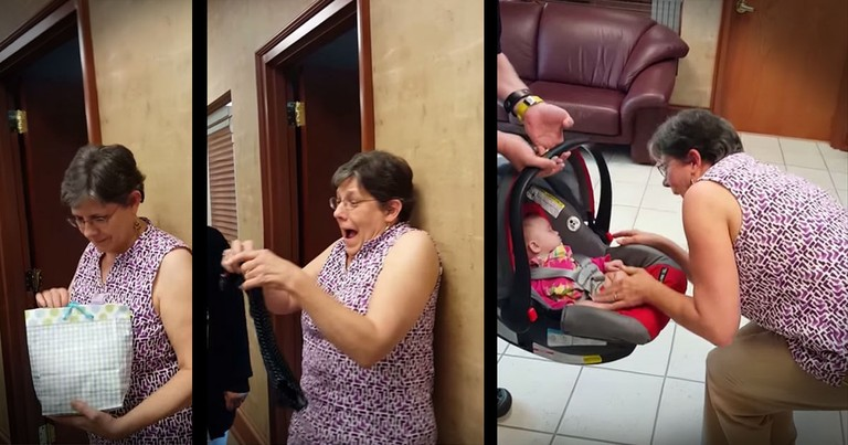 This New Grandma's Surprise Had Me Reaching For The Tissues
