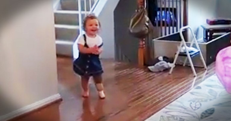 She's Learning To Walk With A Prosthetic Foot And I Can't Stop Cheering