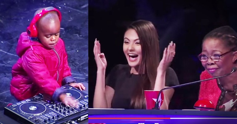 This 3-Year-Old's Golden Buzzer Audition Had The Audience On Their Feet!