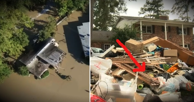 The Only 2 Things In Their Home To Survive The Flood Are What REALLY Matters!