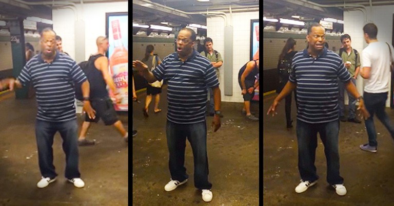 Street Performer Sings Chilling Version Of 'A Change Gonna Come'