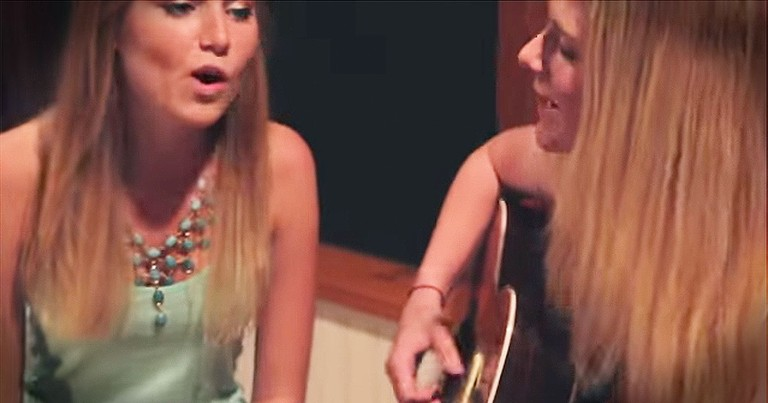 These Sisters Traveled 600 Miles To Sing THIS Acoustic Mash-Up
