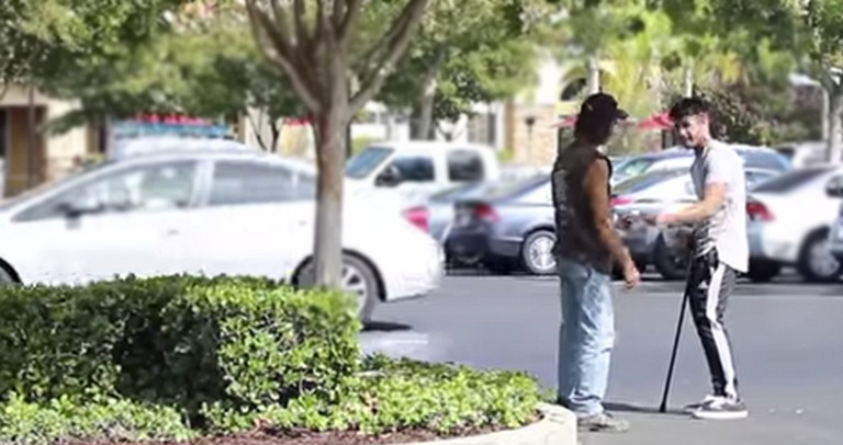 What People Did When He Asked For Help On The Streets -- SHOCKING!