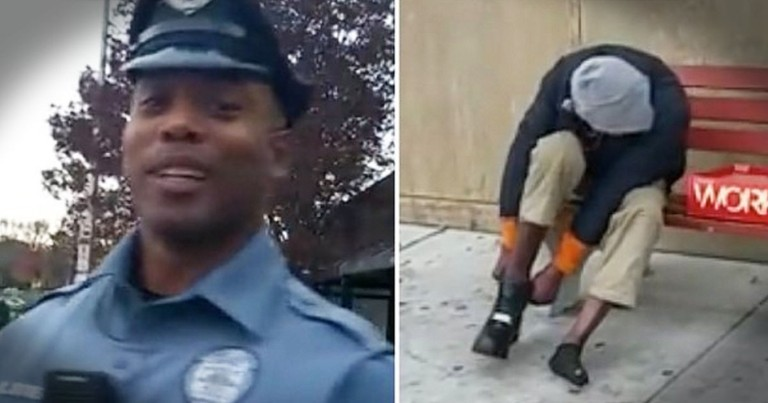 Humble Police Officer's Act Of Kindness Made My Day