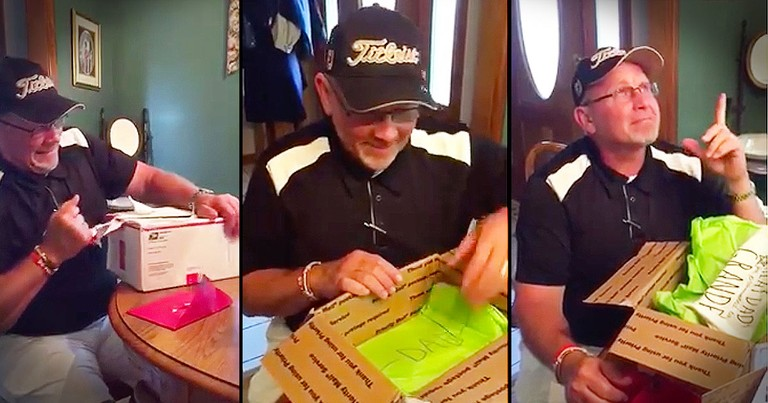 Dad's Birthday Gift Turns Into Sweetest Pregnancy Announcement