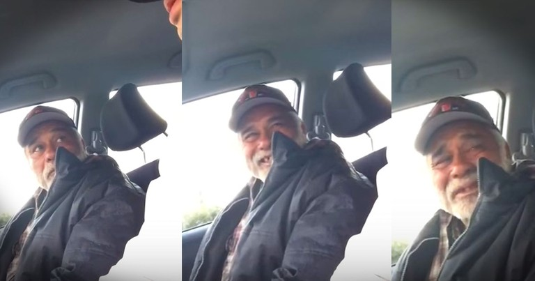 Act Of Kindness Brings Homeless Veteran To Tears