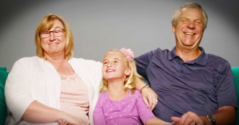 Grandparents Raising Their Granddaughter Get Sweetest Thank You