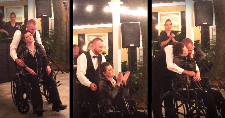 Mother's Last Wish To Dance At Her Son's Wedding Will Have You In Tears