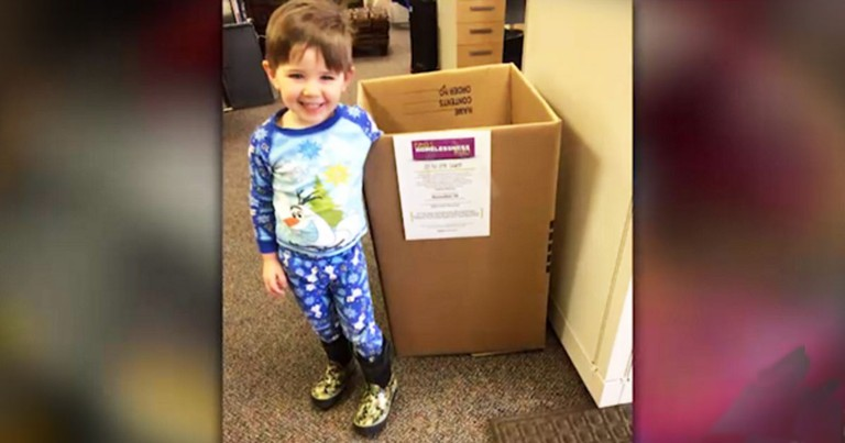 3-year-old Is Helping The Homeless In The Sweetest Way