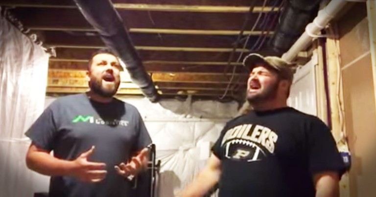 These Singing Contractors Will Wow You With A Cappella 'O Holy Night'