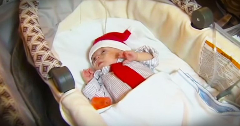 This Baby Is Truly A Christmas Miracle!