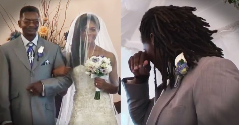 God-Fearing Groom's Words For His Bride Are Beautiful And Tearful!