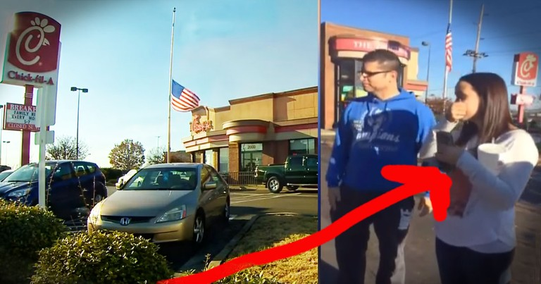Her Car Caught Fire In A Chick-fil-A Parking Lot And How They Helped...WOW