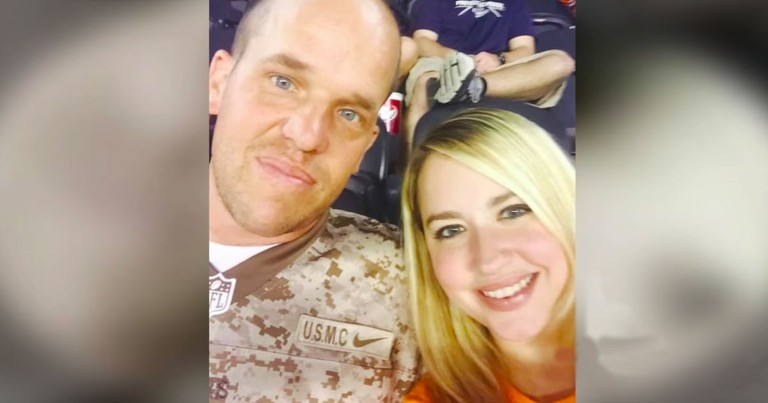 Marine Saved A Strangers Life, And Now He's Marrying Her!