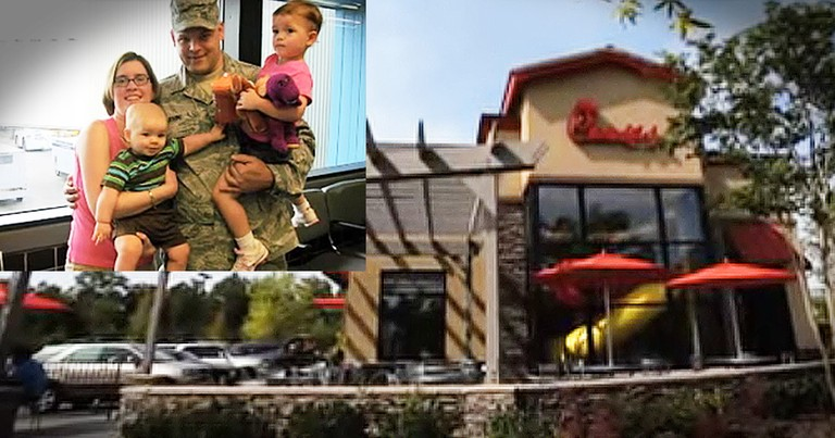 Chick-fil-A Simple Act Of Kindness Goes A Long Way For Military Mom