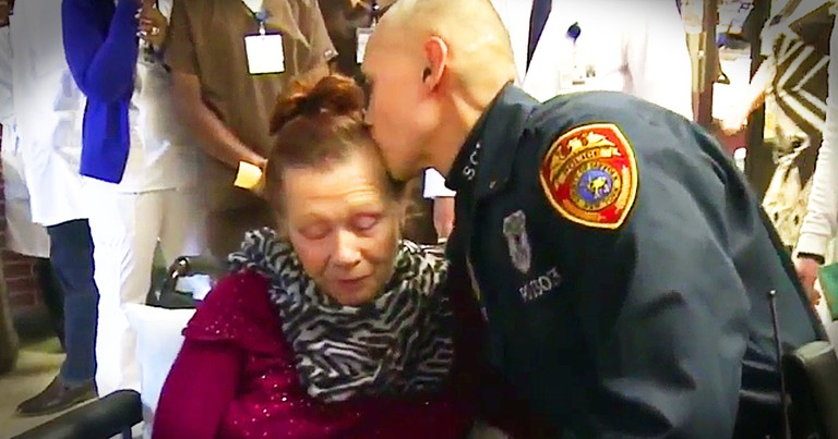Police Officer Pulls Out All The Stops To Save 72-Year-Old's Life