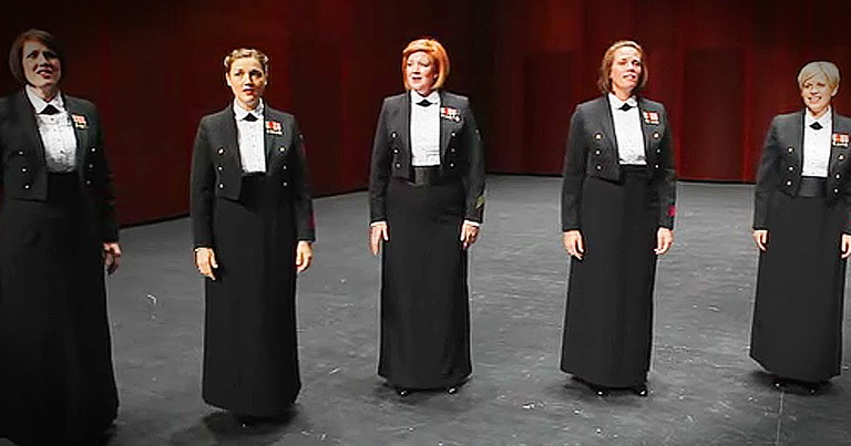 U.S. Navy A Cappella Performance Will Wow You