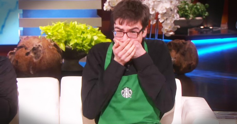 The Surprise For This Barista With Autism Will Make Your Day