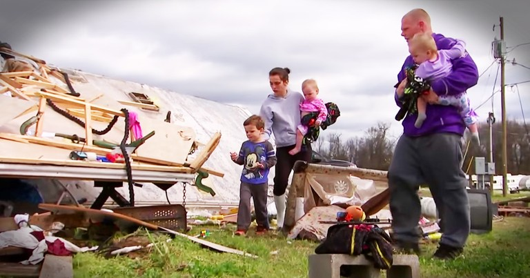 Family Miraculously Survives House Being Picked Up By Tornado