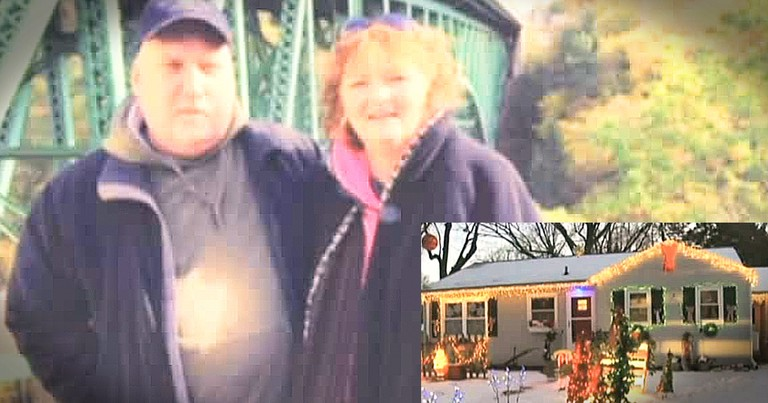 Loving Husband Kept Christmas Lights Up Until Wife Returned From The Hospital