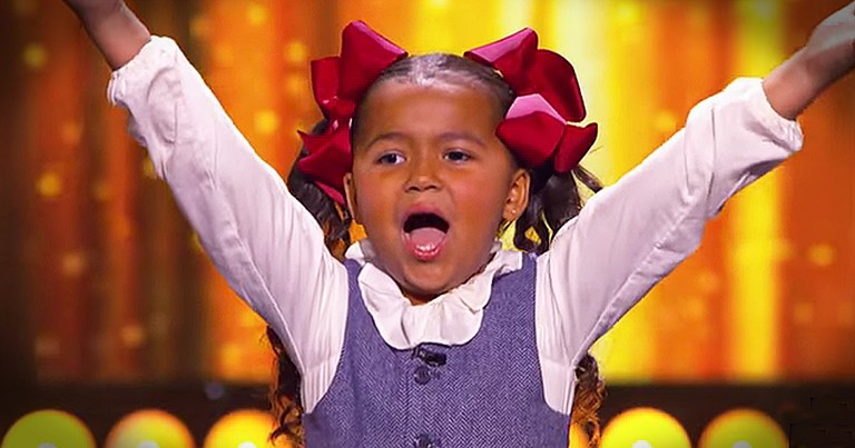 5-Year-Old Heavenly Joy Spreads Happiness With Upbeat Song And Dance