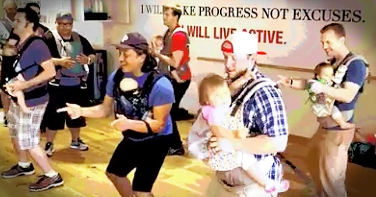 Dads Dancing With Their Babies Will Make Your Week
