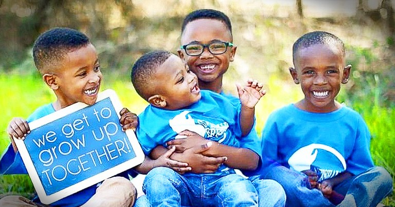4 Brothers Adopted By 2 Different Families Will Warm Your Heart