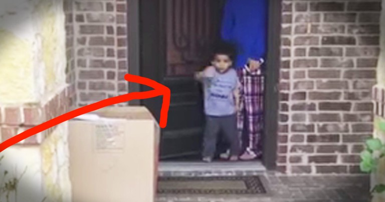Little Boy's 'Goodbye' To His Grandma Is The Cutest Thing You'll See Today