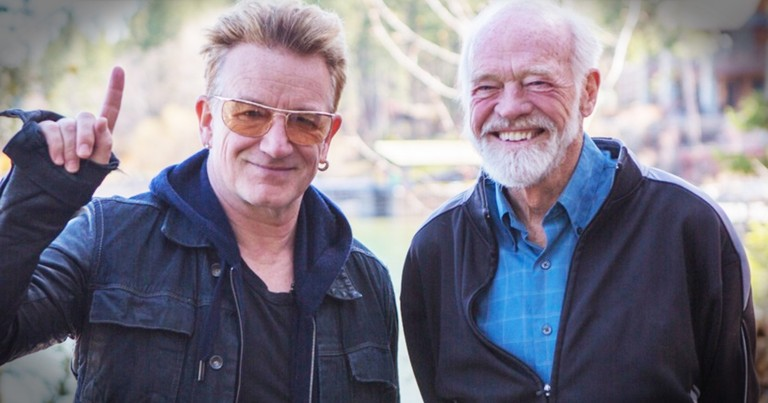 Bono And Eugene Peterson Talk God And The Psalms