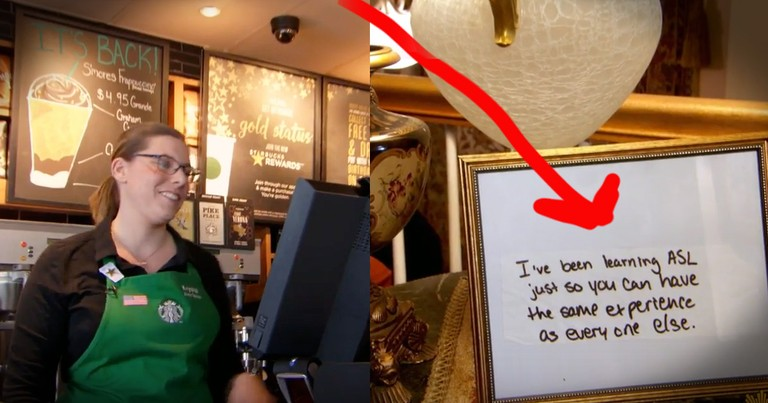 This Barista's Note Went Viral And Seeing Them Now...So Perfect