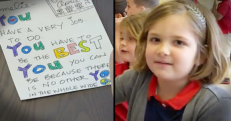 Little Girl's Lunch Notes From Her Mom Are Too Cute To Miss