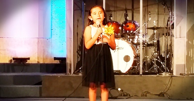 Little Girl's Big Voice Will Warm Your Heart