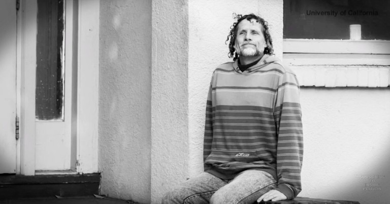 Homeless Man Wanders Into A College And It Changes His Life