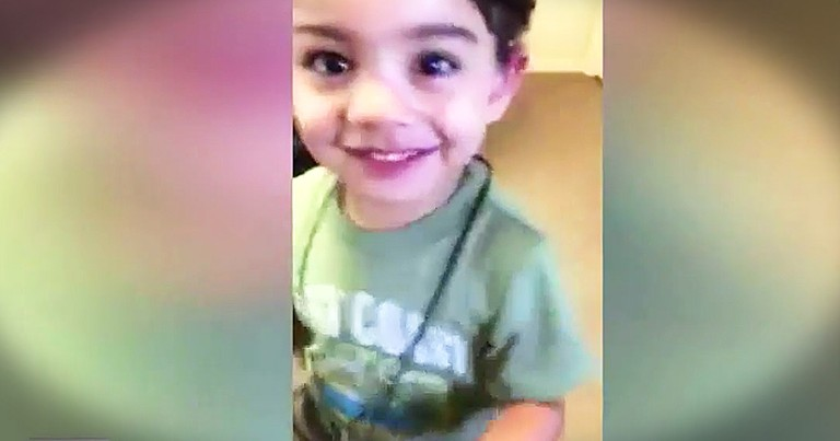 Toddler Hears Mom For The First time Has Sweetest Reaction