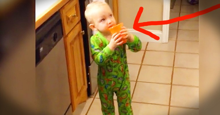 Little Boy Hilarious Tries Veggie Juice