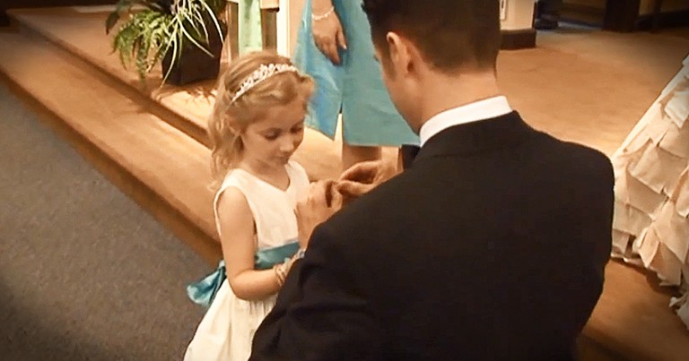 Groom Stops Wedding To Recite Vows To Future Step-Daughter