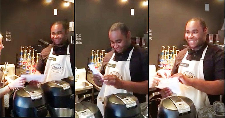 Young Man's Reaction To His Surprise Tips Made My Day