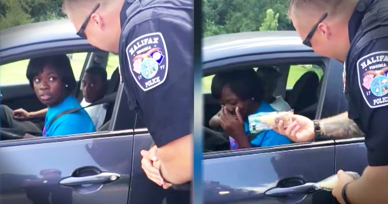 Motorists Never Expected A Police Stop To Be Such A Treat!
